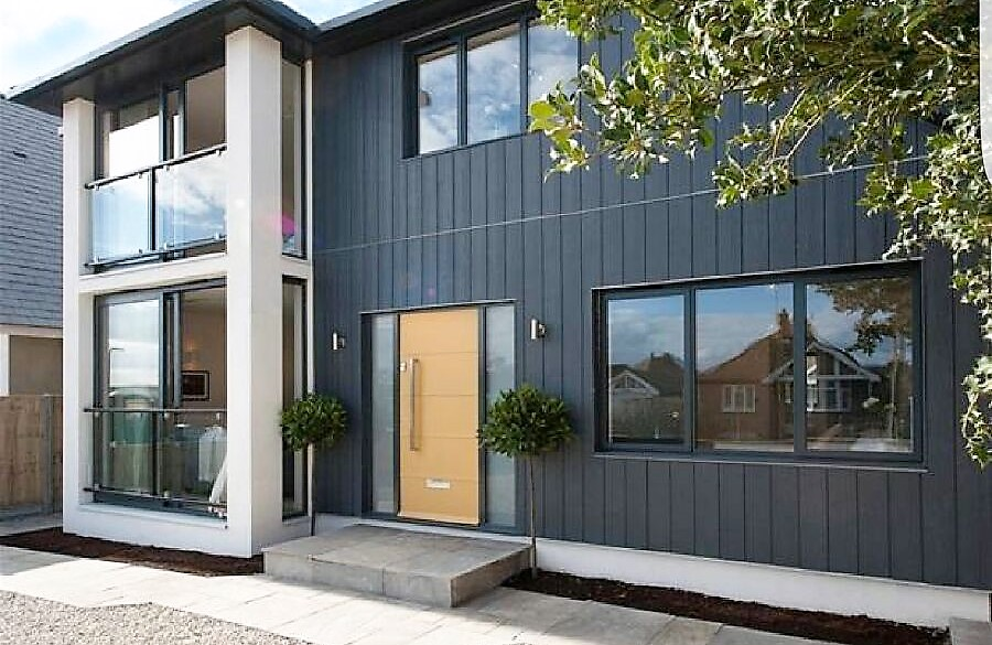 Cedral Eternit Marley Vertical Click Cladding Slate Grey